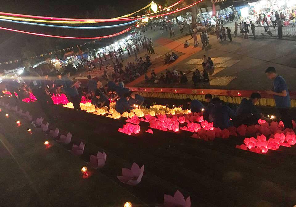 Sinh viên tình nguyện Đại học Sao Đỏ và lễ hội mùa thu Côn Sơn Kiếp Bạc năm 2019