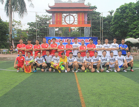 Giao hữu bóng đá  giữa CLB bóng đá trường Đại học Sao Đỏ và  Ngân hàng TMCP Đầu tư & Phát triển Việt Nam (BIDV) chi nhánh Bắc Hải Dương.