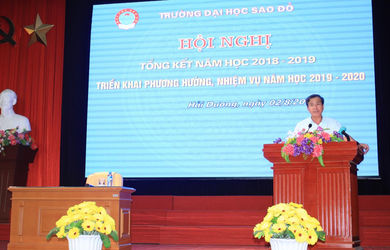 Hội nghị tổng kết năm học 2018-2019, triển khai phương hướng, nhiệm vụ năm học 2019-2020